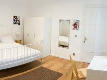 Apartment Codor, White Studio Apartment