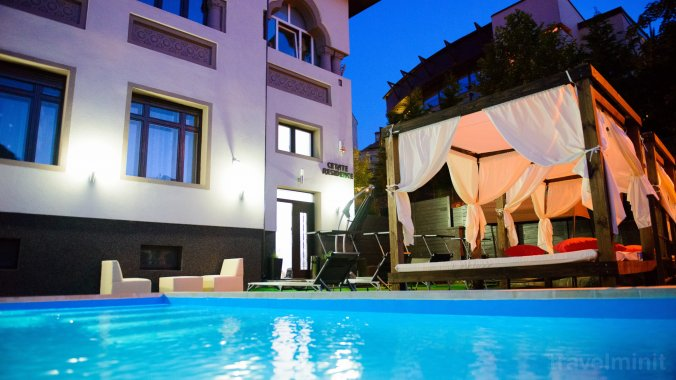 Cetate Residence Villa Brassó