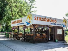 Camping județul Csongrád, Ștrand și camping Sziksósfürdő
