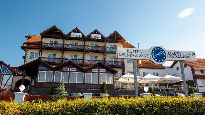 Hotel Europa Kokeltal Albești