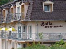 Accommodation Zalakaros, Balla Apartment