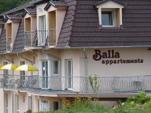 Guesthouse Alsópáhok, Balla Apartment