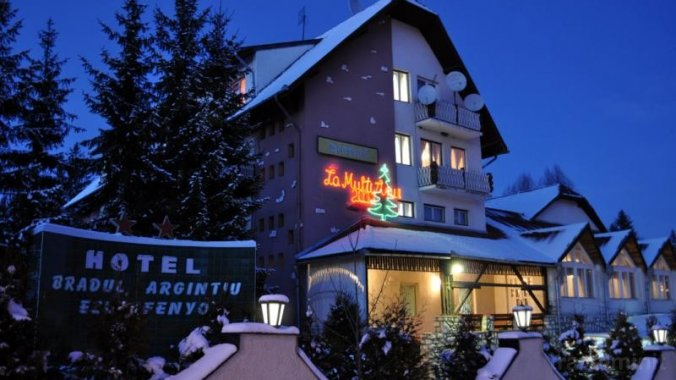 Hotel Bradul Argintiu Izvoru Mureșului