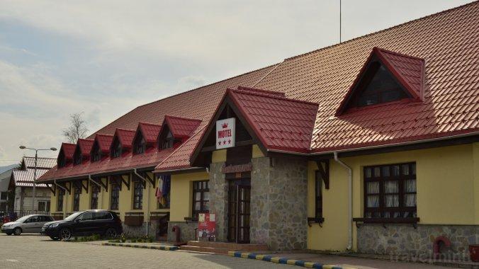 Motel Dârste Négyfalu