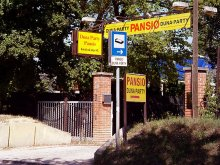 Pensiune Püspökszilágy, Duna-Party Pansio