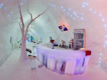 Hotel Bărăști, Hotel of Ice