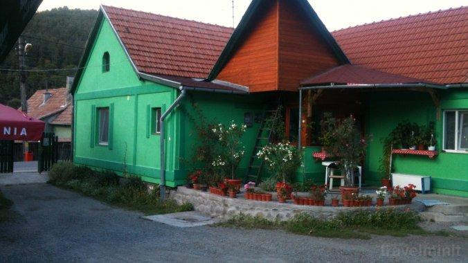 Pensiunea Zöld Laguna Praid