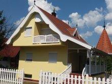 Casă de vacanță Badacsonytördemic, Casa de vacanță Szivárvány