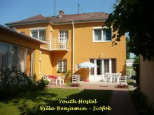 Accommodation Zamárdi, Youth Hostel - Villa Benjamin