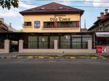 Accommodation Fundătura Răchitoasa, Vila Tosca B&B