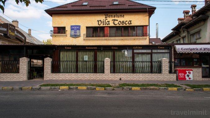 Vila Tosca Panzió Bákó
