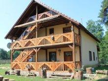Cabană Berești-Tazlău, Pensiunea Mestecăniş