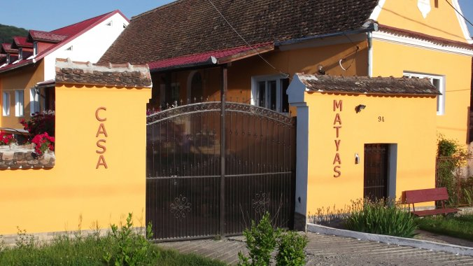 Mátyás Király Guesthouse Șaeș